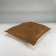 raw edges 40x40 - walnut