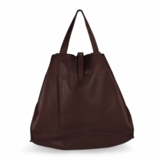 Shopper big - aubergine